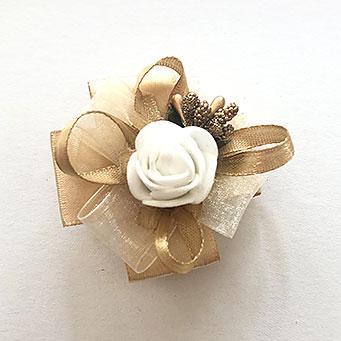 cvetici za svadbu od organdina i satena