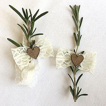cvetici za svadbu sa ruzmarinom